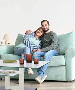 glastisch sofa