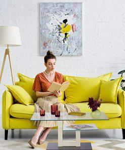 glastisch couch-sofa