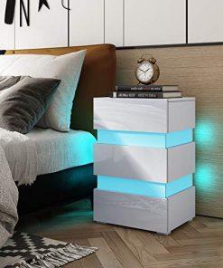 nachttisch beleuchtet-led