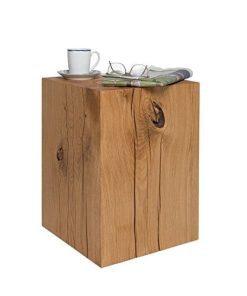 Couchtisch Holzblock