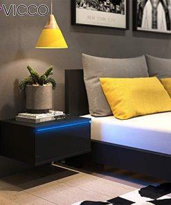 Nachttisch Wandhängend