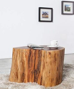 Couchtisch Baumstamm